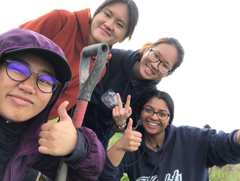 Waikato Uni students